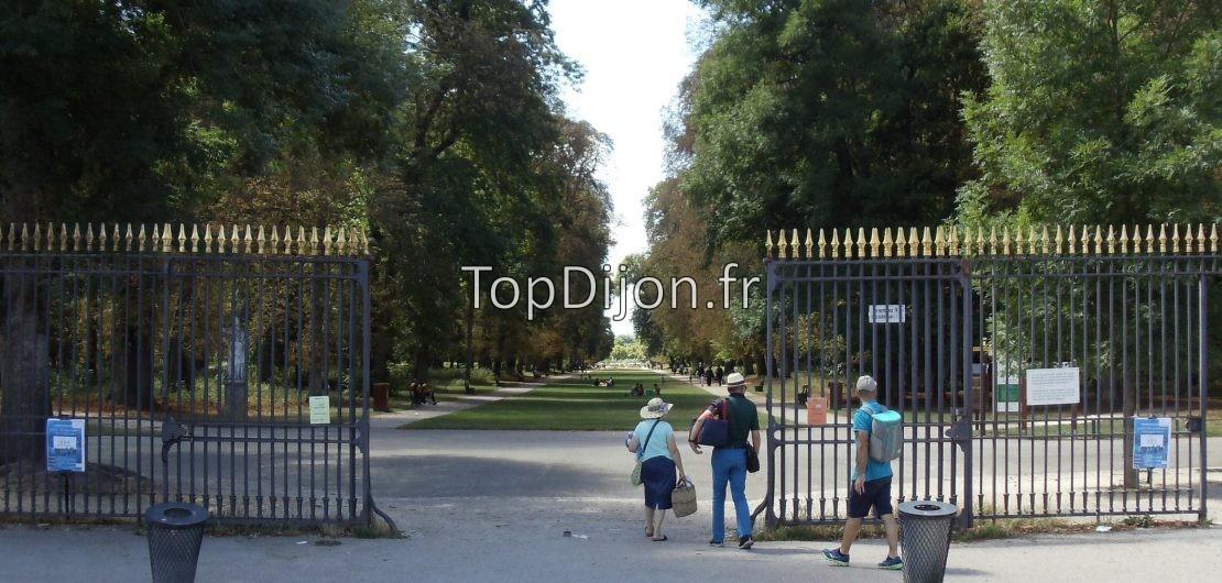 parc colombière entrée portail